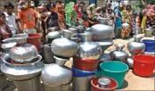 City dwellers face water shortage