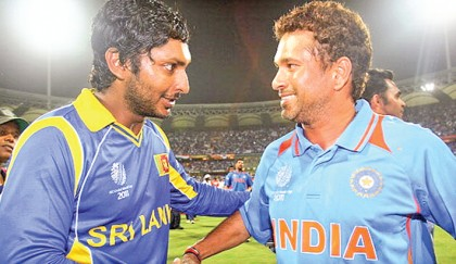 No place for Sachin in Sanga's all time XI