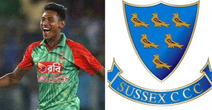 Mustafiz to join Sussex playing final four group games