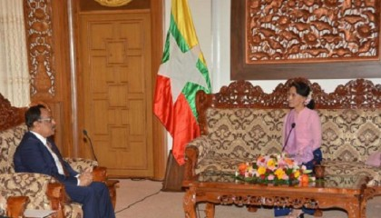 Suu Kyi positive about deeper ties with BD