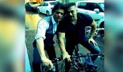 Shah Rukh Khan, Salman Khan go for 'bike' date!