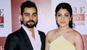 Anushka Sharma takes time out to be with Virat Kohli!