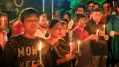 Candle-lit vigil held in city protesting Gulshan attack