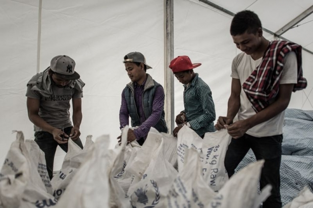 Nepal sells relief rice donated by Bangladesh and China