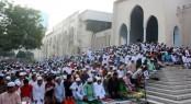5 Eid jamaats held at Baitul Mukarram