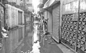 Kuratoly of Khilkhet: Inhabitants suffer due to water logging