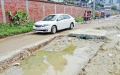 Six dilapidated streets around Agargaon make residents suffer