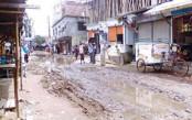Ranavola road becomes unusable