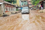 50 km rickety Comilla roads putting commuters in peril