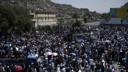Kabul blast hits Hazara protest - '29 dead and scores hurt'
