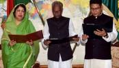 Juel Areng, Nazim Uddin sworn in