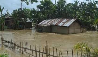 50 Faridpur villages flooded, 35000  marooned