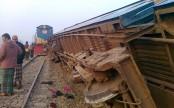 Derailment snaps Dhaka-Mymensingh rail link