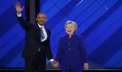 Obama to Democrats: 'We're going to carry Hillary to victory'