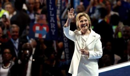 US faces 'moment of reckoning' says Hillary