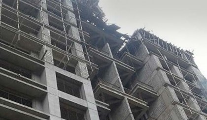 9 feared dead as part of under-construction building collapses in India