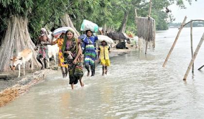 Flood situation worsens in Faridpur