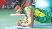 Hard-hitter Sabbir works hard on fitness too