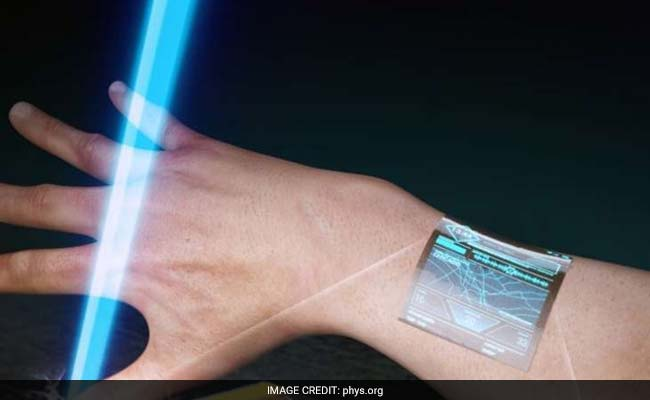 Researchers develop ultra-thin transistors for wearable display