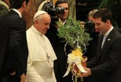 Pope Francis names Lionel Messi best footballer of all-time – ahead of Diego Maradona and Pele