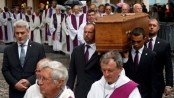 Thousands attend French priest funeral
