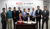 Westin Dhaka and CUB signs MoU