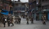Curfew, shutdown continues for 25th day in Kashmir