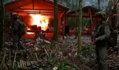 Colombia destroys cocaine labs in jungle region