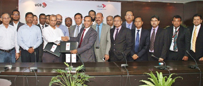UCB, bKash sign agreement on collection and payment service