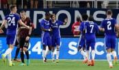 Chelsea thump AC Milan