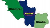 Severe traffic congestion in Savar