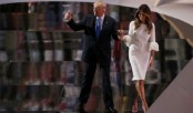 Melania Trump denies visa claims