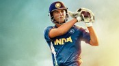 MS Dhoni poster: Sushant Singh Rajput as Dhoni hooks a full-blown cricketing avatar