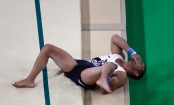 Frenchman Samir Ait Said suffers horror leg break in qualifying
