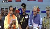 Rupani takes oath as Gujarat CM