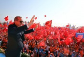 Giant Turkish anti-coup rally packs Istanbul waterfront area