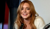 Lohan breaks silence on fight with fiancé
