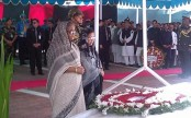 PM pays tributes to Bangabandhu at his Tungipara mausoleum