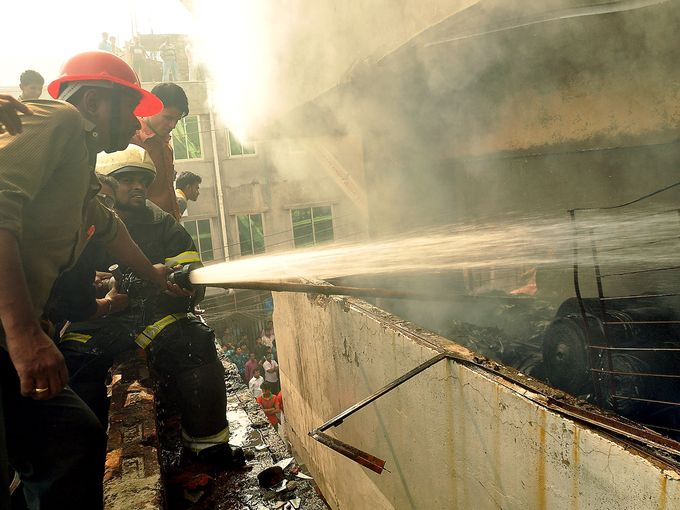 Fire at Gazipur RMG factory doused after 15 hours