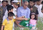 President pushes for social afforestation