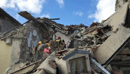 Earthquake in central Italy leaves 73 dead