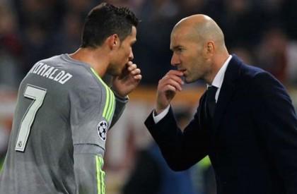 Cristiano Ronaldo: Real Madrid owe success to Zinedine Zidane