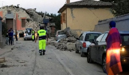 Six people killed in earthquake in central Italy