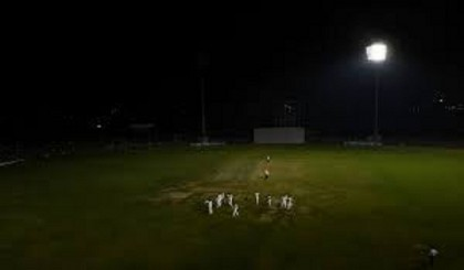 Floodlight failure mars India's pink ball debut