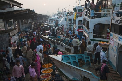 A section of river vessel workers calls of strike
