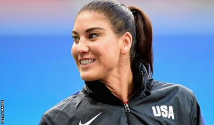 USA goalkeeper suspended for 'cowards' comment