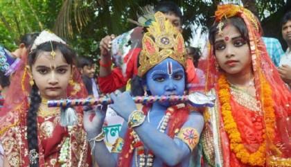Hindu community celebrates Janmashtami