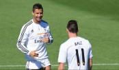 Cristiano Ronaldo, Bale train with Real Madrid