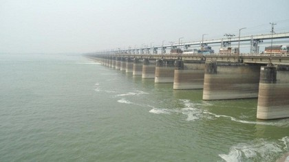 Padma rising rapidly, likely to cross danger level soon as Farakka open