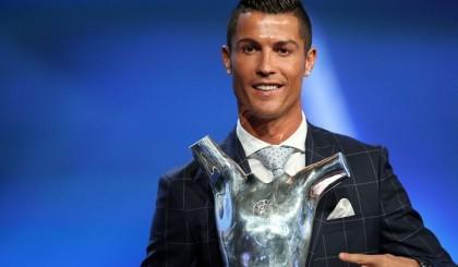 Ronaldo crowned UEFA Best Player in Europe